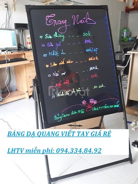 Chuyên bảng led huỳnh quang viết tay giá rẻ tại Đà Nẵng