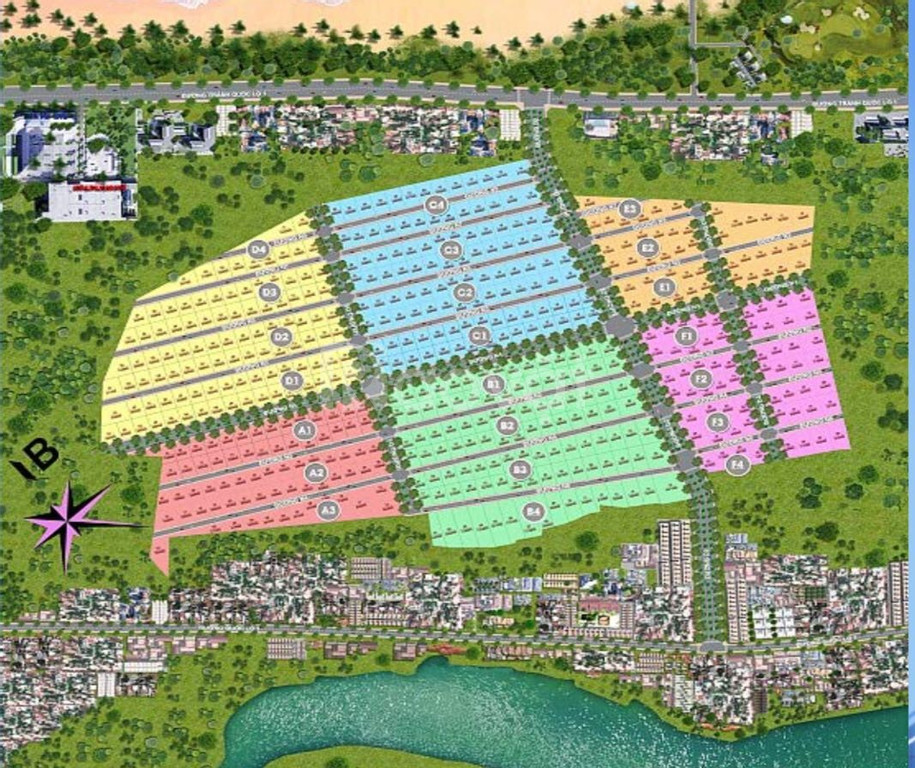 Đất nền phân lô, sổ đỏ từng nền 600tr/lô 500m2 đất