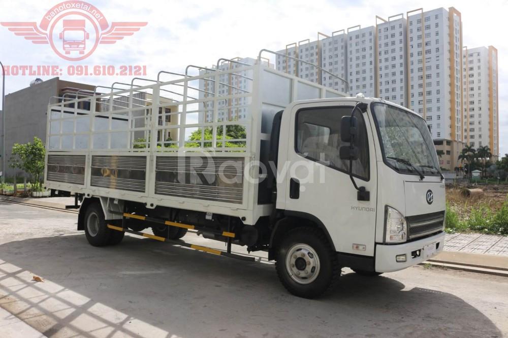 Xe tải FAW 7.3 tấn thùng 6m3 máy cơ Hyundai D4DB