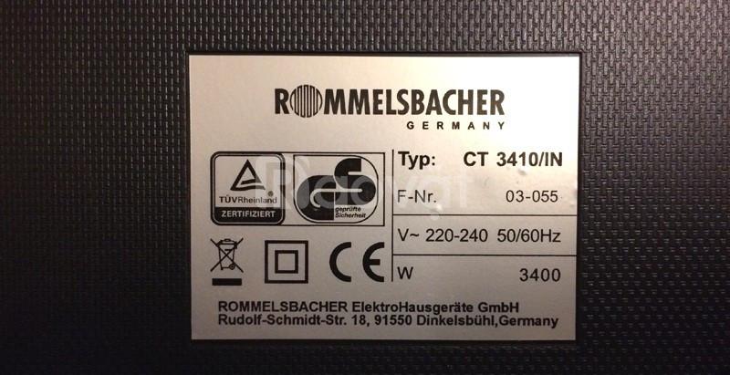 Bếp từ Rommelsbacher CT 3410/IN Bếp Thái Sơn