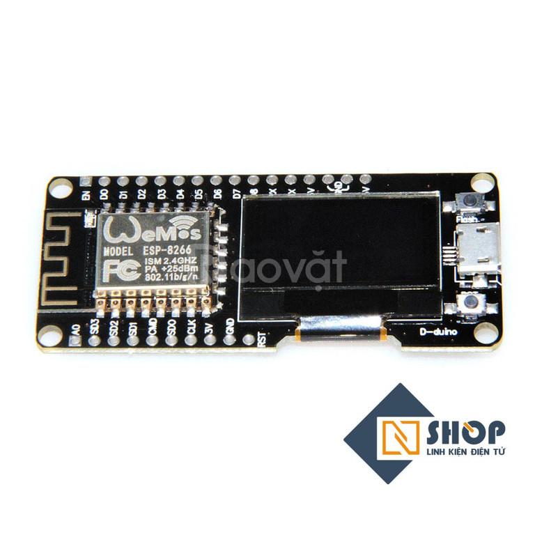 Kit thu phát wifi esp8266 NodeMCU oled 1.3inch