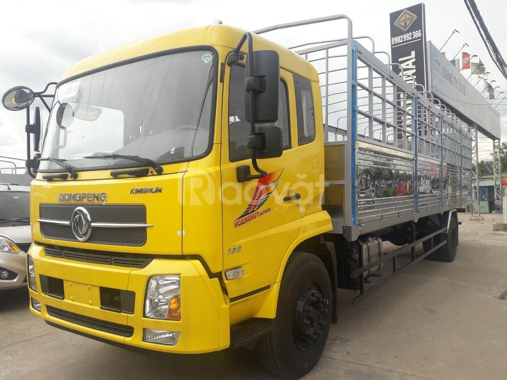 Xe Dongfeng B180 Euro5 đời 2019 thùng dài 9.5m