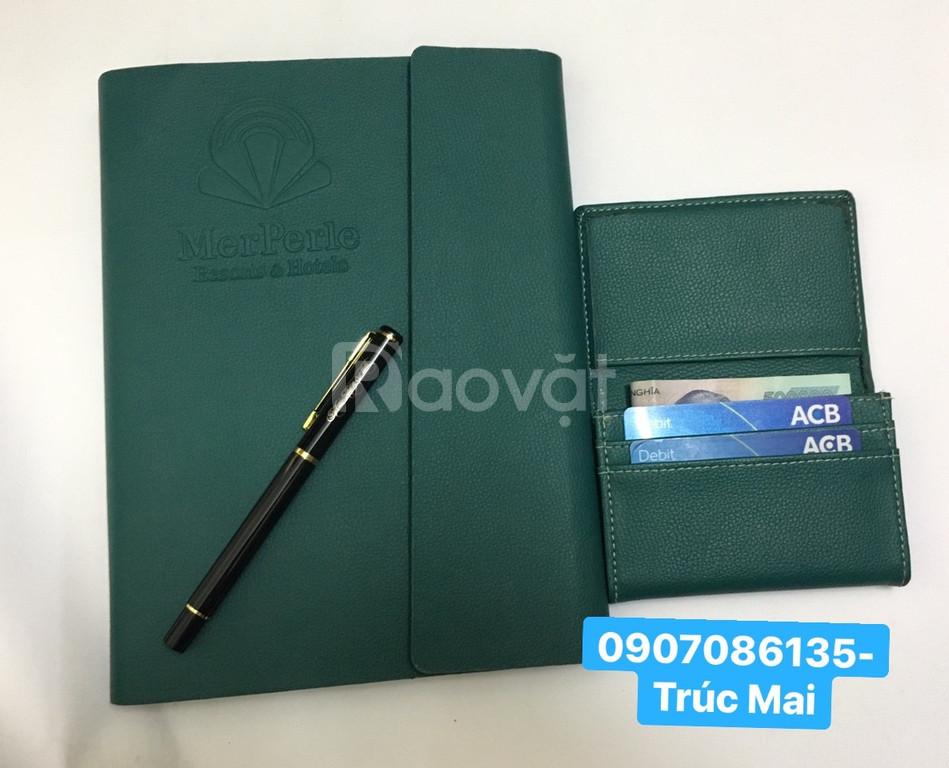 Sản xuất sổ da- bìa menu, móc khóa, ví da, tag hành lý, sổ note giá rẻ