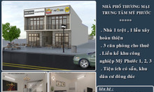 Nhà phố thương mại trung tâm Mỹ Phước