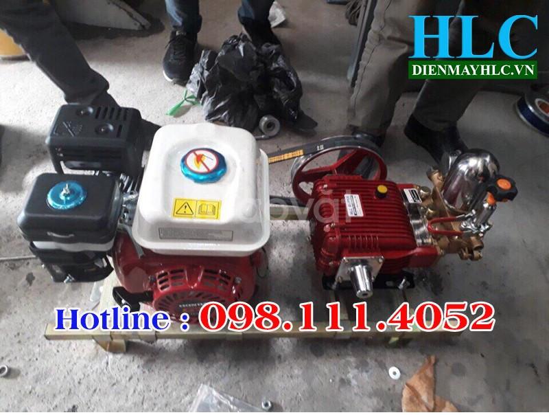 Bán đầu xịt áp lực, đầu rửa xe HLC lắp động cơ