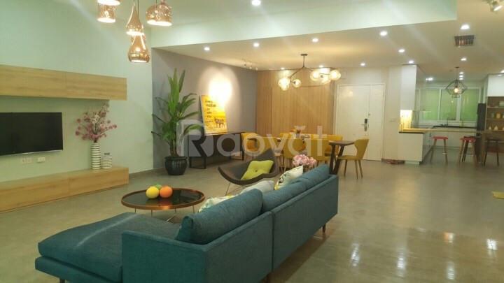 Bán căn hộ Duplex Saigon Pearl 3 tầng 500m2 nhà thô giá 25.5 tỷ