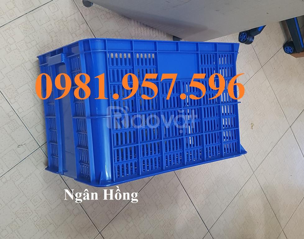 Sọt nhựa cao 39, sọt nhựa 3T9 đựng phụ tùng, phụ liệu