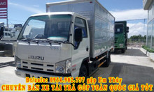 Xe tải Isuzu 3 tấn 49 thùng mui bạt ga cơ giá rẻ