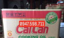 Chuyên phân phối sỉ lẻ dầu ăn Cái Lân thùng 20 lít cho nhà hàng