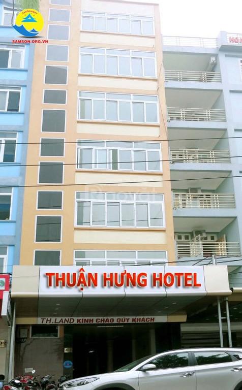 Bán khách sạn 7 tầng mặt đường Thanh Niên - TP. Sầm Sơn - Thanh Hóa