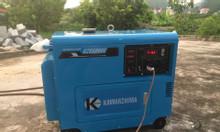 Máy phát điện 5Kw chạy dầu Kawazhima KZ6500DE