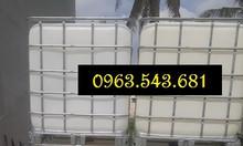 Thùng nhựa 1000 lít đựng dầu PO, bồn 1000 lít đựng dầu PO