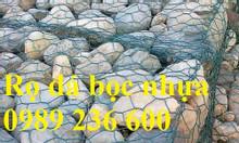Rọ đá mạ kẽm, thảm đá bọc nhựa hàng sẵn kho tại Hà Nội