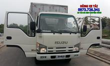 Xe tải ISUZU 3t49 thùng dài 4m4 hỗ trợ trả góp 85%.
