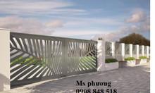 Tổng hợp các mẫu hàng rào sắt sơn epoxy cao cấp bảo vệ nhà ở chắc chắn