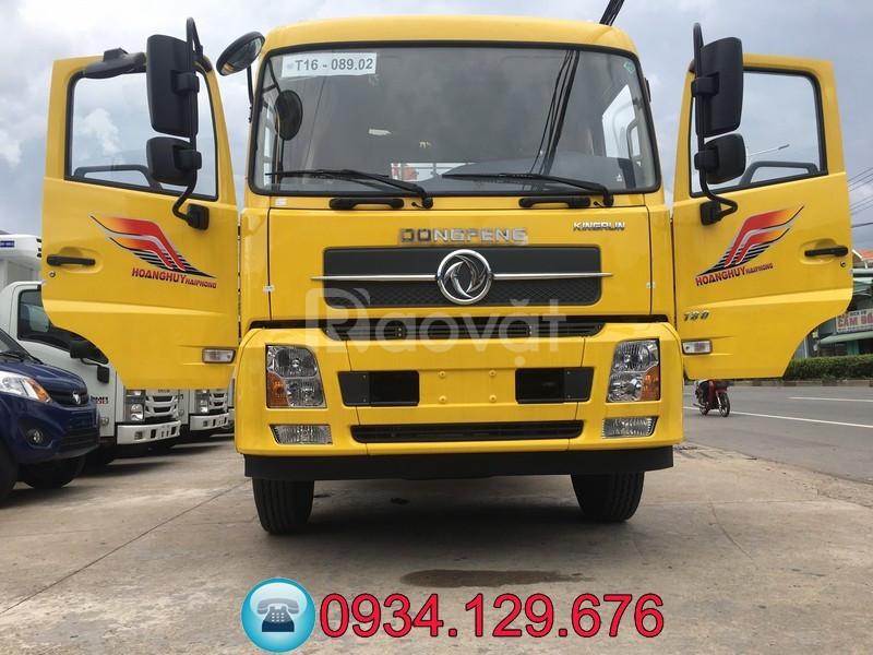 Xe tải B180 8 tấn Dongfeng thùng dài 9m5 chở pallet, bao bì giấy, nệm