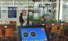 Máy tính tiền pos giá rẻ cho quán cafe tại Hội An
