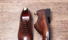 Lamen giày da nam công sở, giày cưới nam đẹp hiện nay