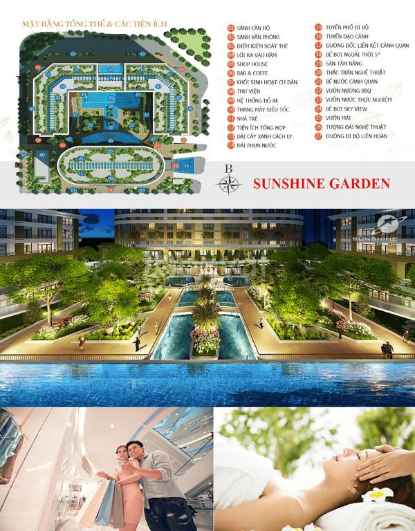 Bán giá gốc trực tiếp chủ đầu tư dự án Sunshine Garden