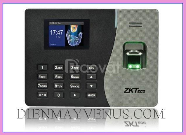 Máy chấm công vân tay ZKTeco K14 chấm công ít người hiệu quả