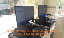 Lắp đặt máy tính tiền cho siêu thị mini giá rẻ tại Gò Vấp