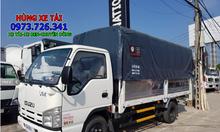 Xe tải Isuzu 3t49 thùng dài 4m4 hỗ trợ vay tối đa.