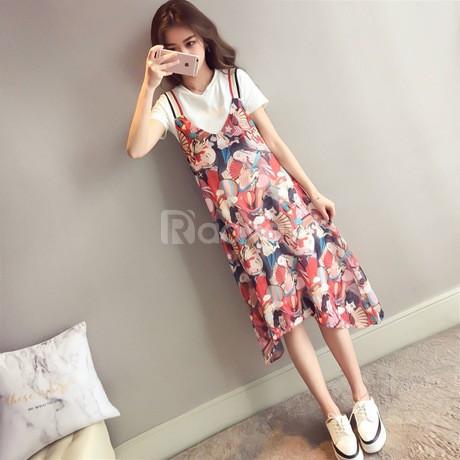 [Thời trang bigsize] Váy đầm giả yếm nữ bigsize