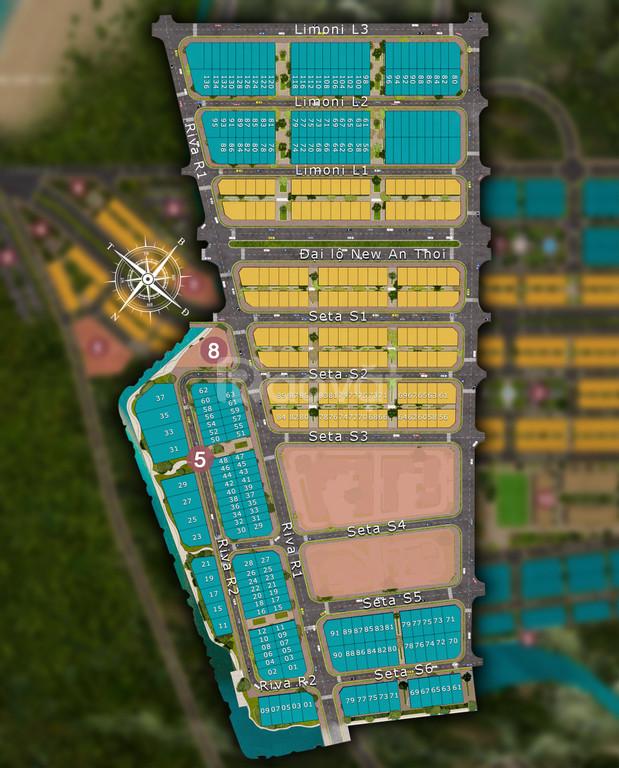 Nhà phố, Shophouse Sun grand City Phú Quốc, thiết kế 5 tầng