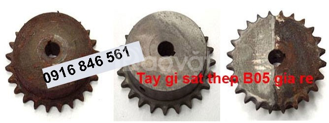 Chất tẩy gỉ sắt thép B05 can 5L dùng thử
