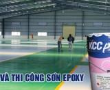 Sơn Epoxy tự san phẳng KCC-Unipoxy Lining
