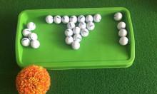 Khay đựng bóng golf bằng cao su