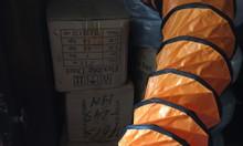 Ống gió simili cam dùng cho quạt công nghiệp