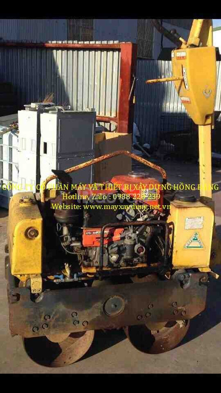 Dịch vụ cho thuê máy lu rung dắt tay giá rẻ tại miền bắc
