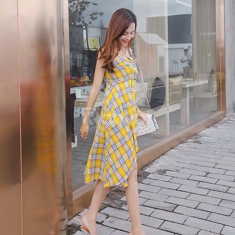 Thời trang bigsize, váy đầm hai dây hè bigsize