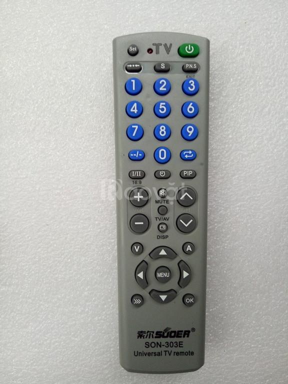 Remote tivi đa năng - Điều khiển tivi đa năng