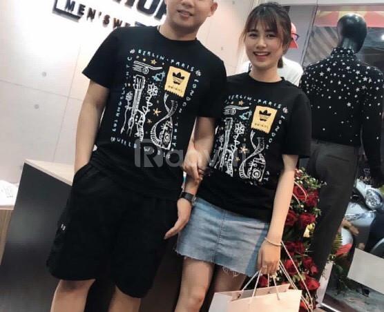 Áo phông nam nữ adidas haswell tee