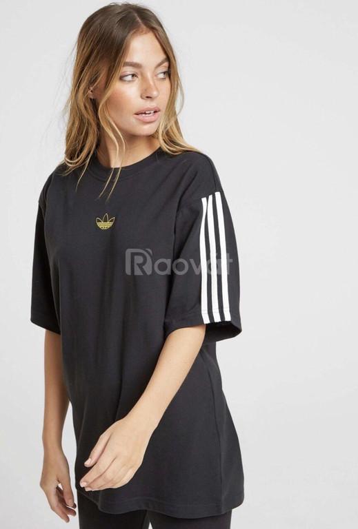Áo phông đôi nam nữ adidas floating tee