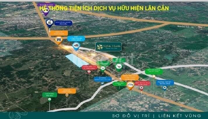 Bán đất Quảng Ngãi, dự án Nghĩa Hành New Center giá chủ đầu tư (ảnh 2)