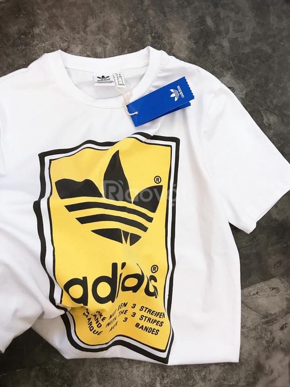 Áo phông nam nữ adidas filled label tee
