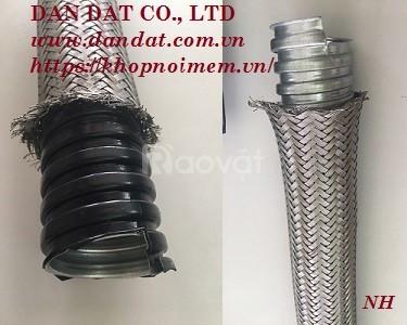 Ống ruột gà lõi thép bọc nhựa bọc lưới, ống luồn dây điện bọc nhựa pvc
