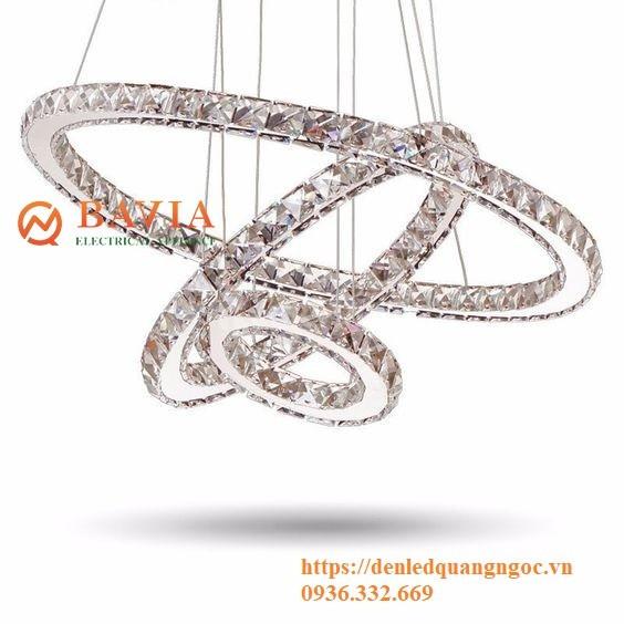 Đèn thả trần trang trí kim cương BAVIA MD357