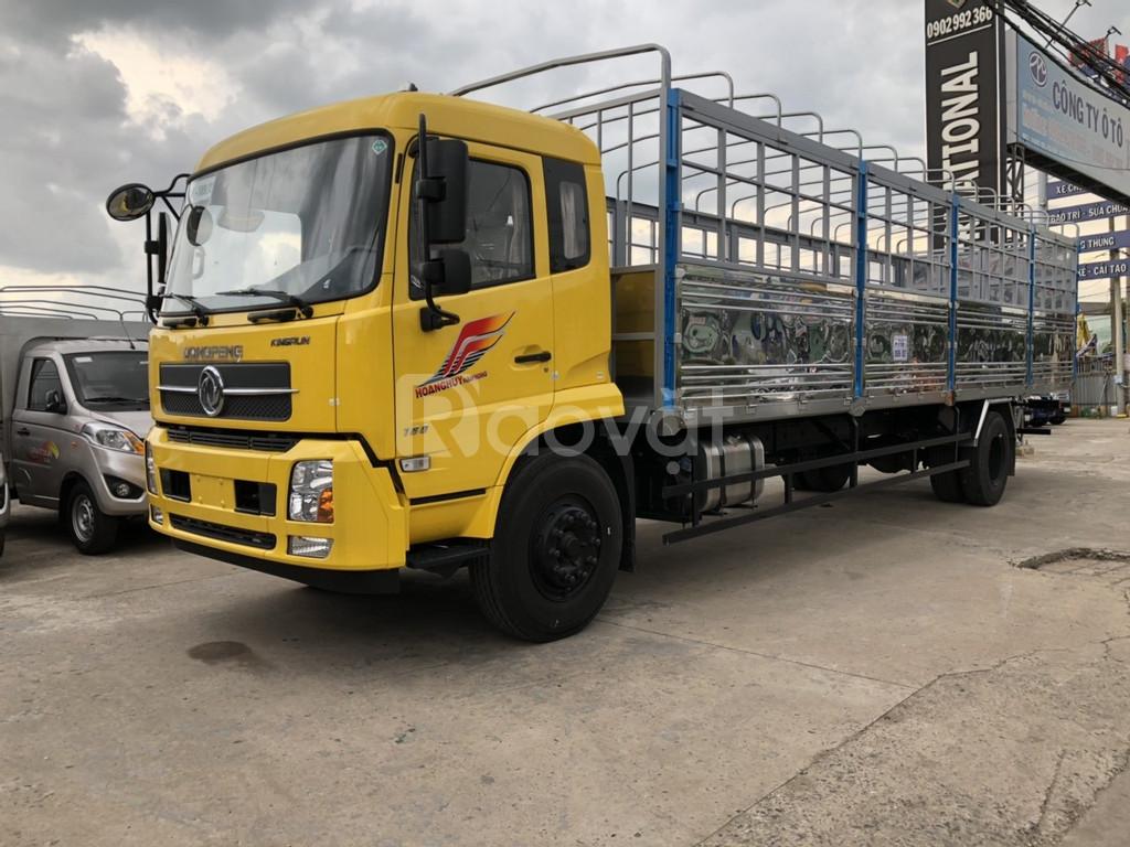 Xe tải dongfeng b180 thùng dài, chuyên chở đa dạng hàng hóa