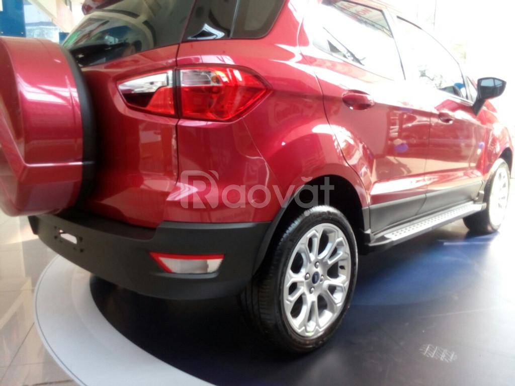 Ford Ecosport, tặng ngay bảo hiểm vật chất xe và nhiều phụ kiện