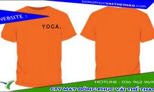 Cơ sở may mẫu áo thun đồng phục yoga vải thun lạnh