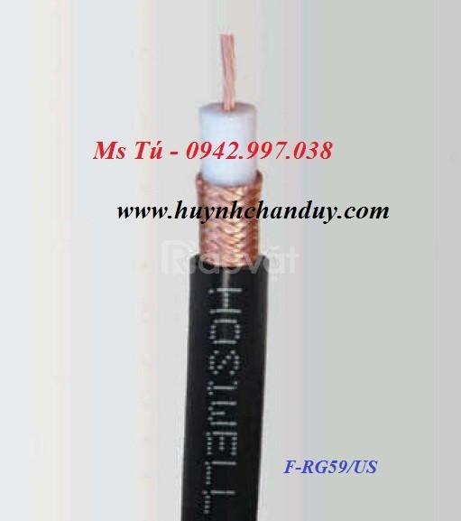 F-RG59/US - Cáp đồng trục thang máy RG59 - Hosiwell Cable, 305m/cuộn