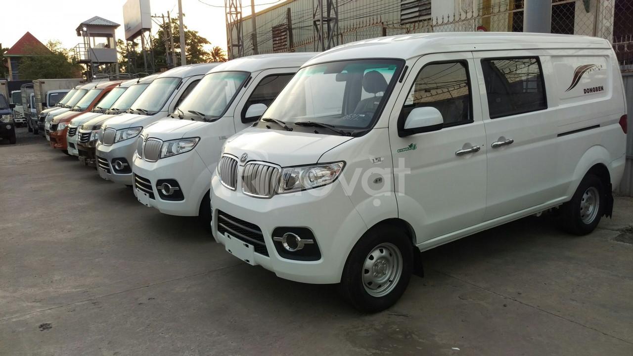 Xe bán tải van Dongben x30 5 chỗ, vào thành phố giờ cấm 24/24