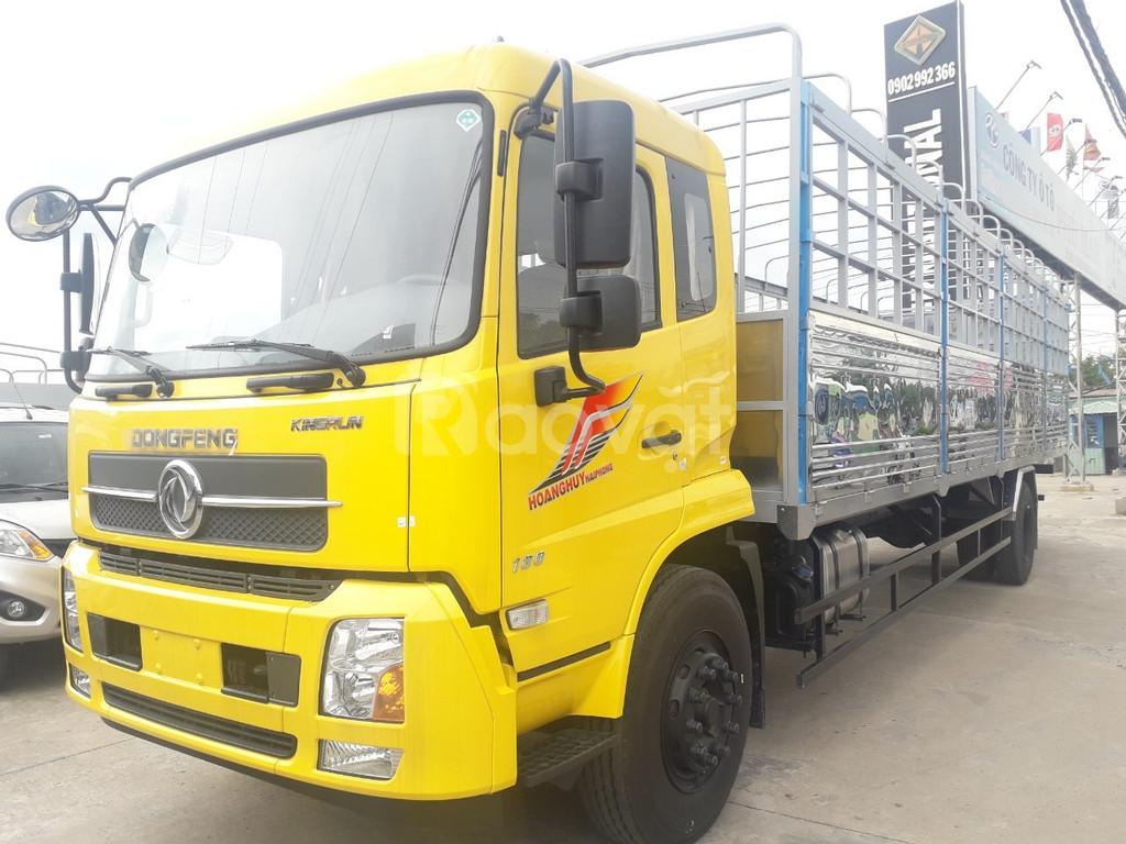 Xe tải DongFeng B180 thùng dai 7m5 tải trọng 9tấn
