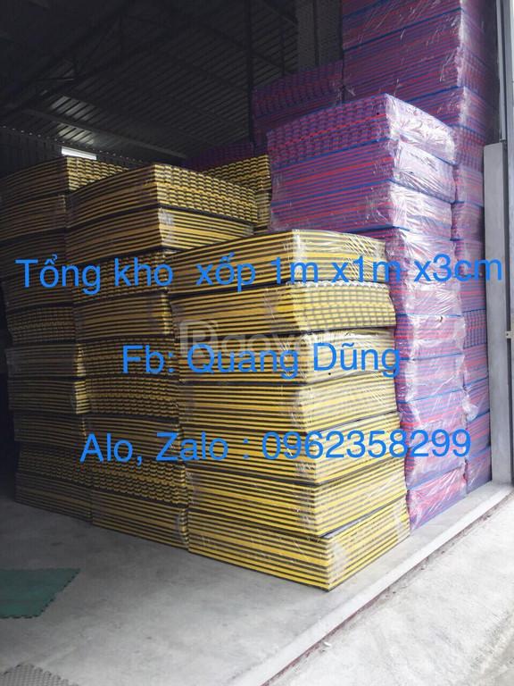 Tổng kho thảm xốp 1m x 1m x 3cm giá rẻ