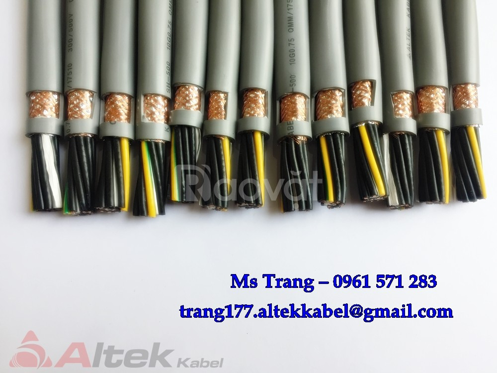 Cáp điều khiển Altek Kabel: tiêu chuẩn CE - lõi đồng 100%