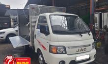 Xe tải JAC 1t25 thùng kín cánh dơi dài 3m2, giá mềm